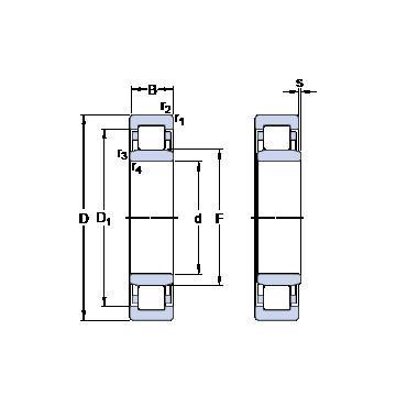 234434 MSP CX Eksenel Bilyalı Rulmanlar