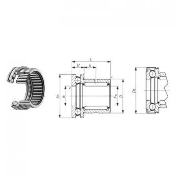 ZK.22.1100.100-1SPPN ISB Eksenel Bilyalı Rulmanlar
