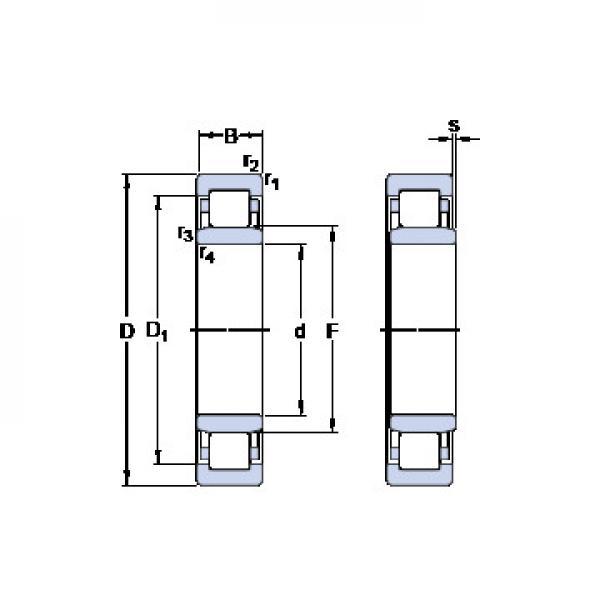 234413 MSP CX Eksenel Bilyalı Rulmanlar