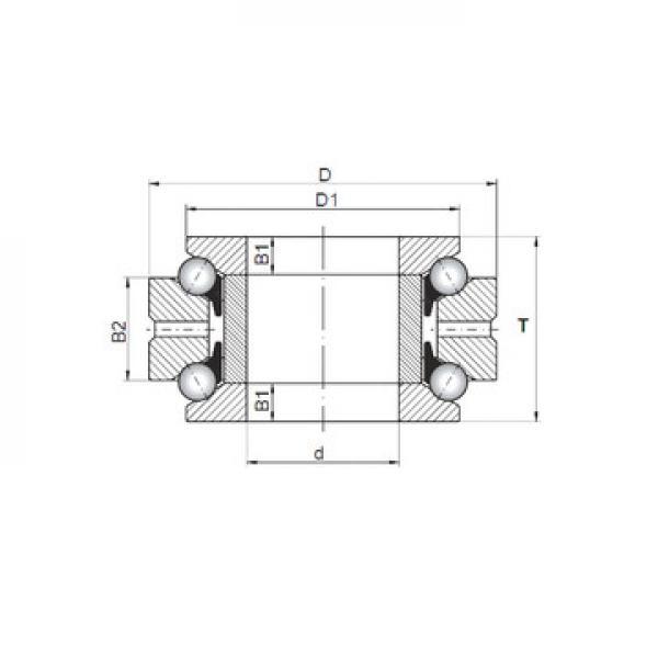 NU 236 ECML SKF Eksenel Bilyalı Rulmanlar
