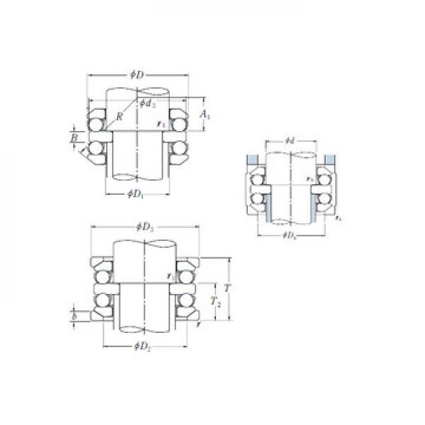 53205 CX Eksenel Bilyalı Rulmanlar